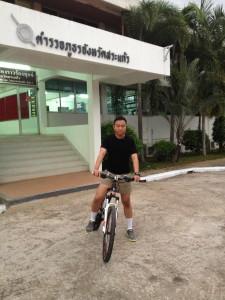 ปั่นจักรยาน...การออกกำลังกาย