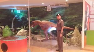 ไดโนเสาร์ในห้องวิทยาศาสตร์