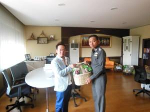 ผู้บริหารโรงแรมอินโดจีนและตลาดอินโดจีนอวยพรปีใหม่