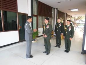 ร่วมแสดงความยินดีวันกองทัพไทย