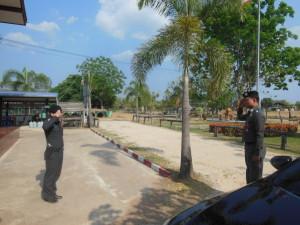 29มี.ค.57-ตรวจสภ.บ้านทัพไทย